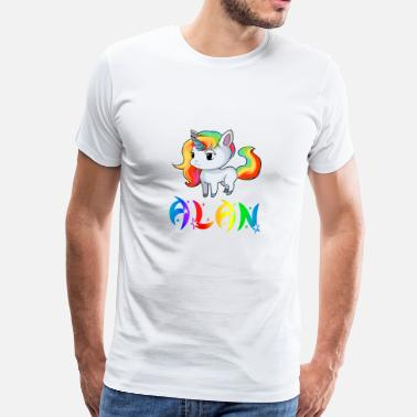 Alan Unicorn Alan - Men's Premium T-Shirt