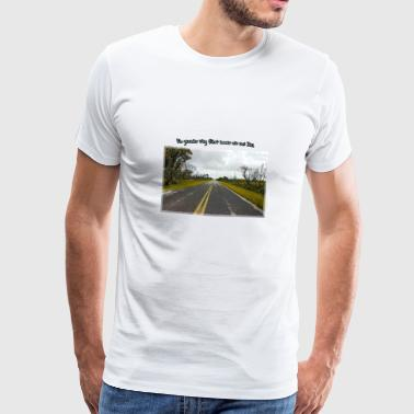 Long Road - T-shirt Premium Homme