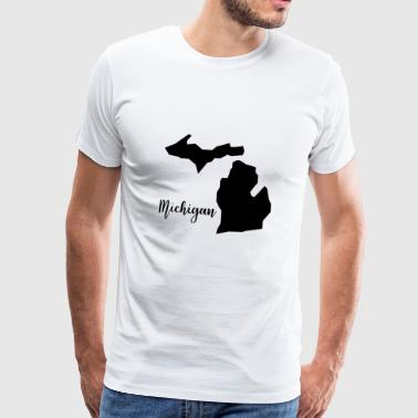 Michigan - Männer Premium T-Shirt