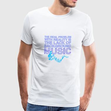 Lacquerer Lacquer Of Background Music Gift Tee Shirt - Men's Premium T-Shirt