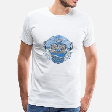 Mindfulness Monkey Mind - Men's Premium T-Shirt