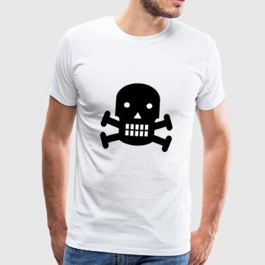 piratenschip boot piratenschip skull5 - Mannen Premium T-shirt