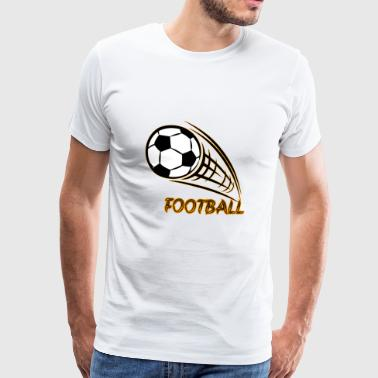 Cool football design - Men's Premium T-Shirt