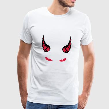 horn devil eye mocking feroce 1910 - Men's Premium T-Shirt