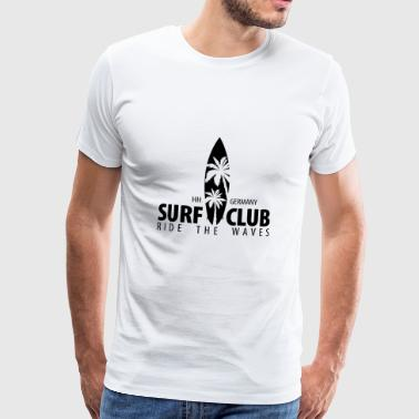 Surf Club - Men's Premium T-Shirt