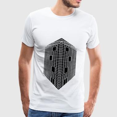Modern building - Men's Premium T-Shirt