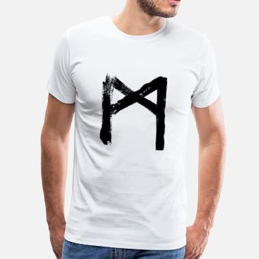 Augmented m mannaz augmentation support - Men's Premium T-Shirt