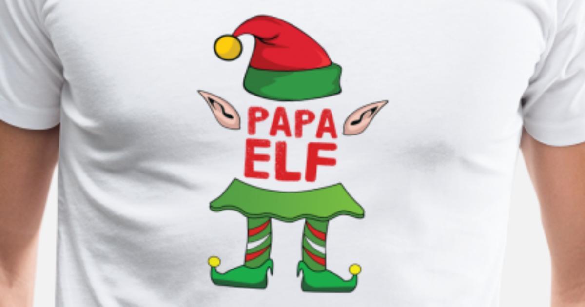 Papa Vater Elf Weihnachten Familie Geschenk Xmas von   Spreadshirt