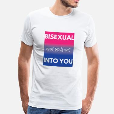 Bisexual Pride Bisexual T-Shirt - Gay Pride - Gay - Gift - Men's Premium T-Shirt