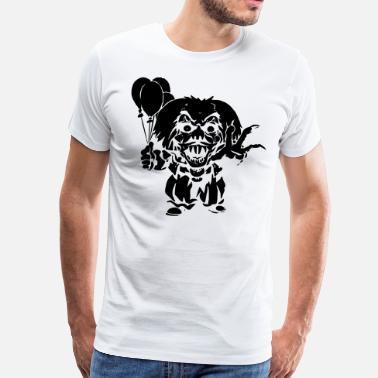 Horror Film Horror Clown - Men's Premium T-Shirt