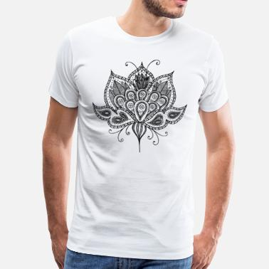 Lotus Blossom Lotus flower - Men's Premium T-Shirt