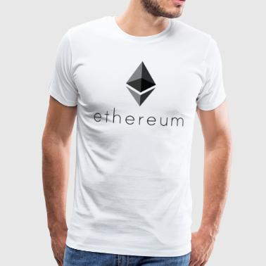 Ethereum Coin Cryptocurrency - Mannen Premium T-shirt