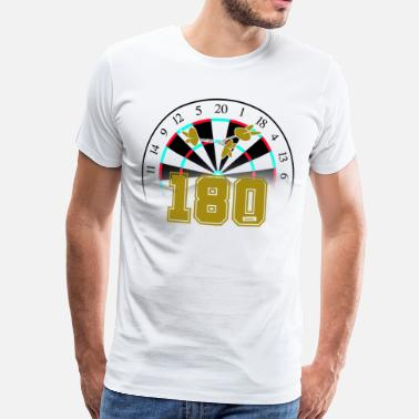 180 Darts 180 darts - Men's Premium T-Shirt