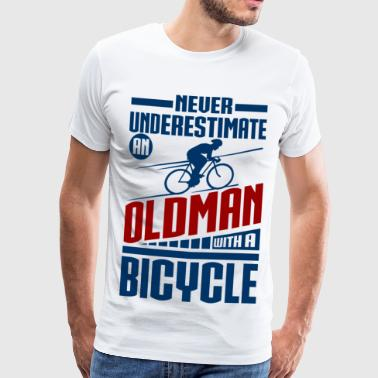 Cycling Opa Cycling Grandpa - Männer Premium T-Shirt