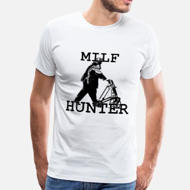 Tube MILF HUNTER - Männer Premium T-Shirt