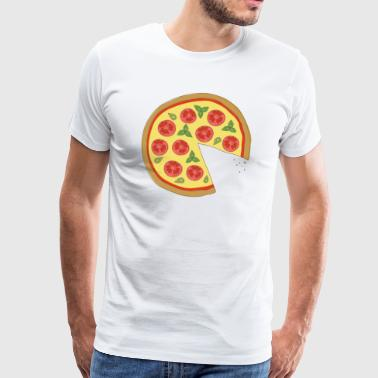 The Missing Pizza Margherita -Matching Couple Love - Männer Premium T-Shirt