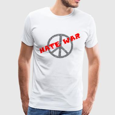 Anarchie was haat - Peace - Mannen Premium T-shirt