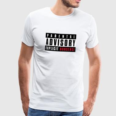 Explicit Nonsense - Men's Premium T-Shirt