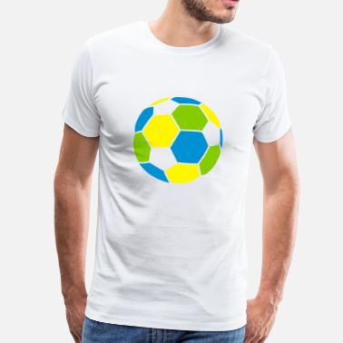Colours Football - Camiseta premium hombre