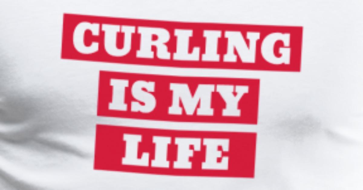 Curling Lockenwickler Sport Sportler Spieler von Funky Art | Spreadshirt