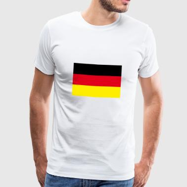 german map - T-shirt Premium Homme