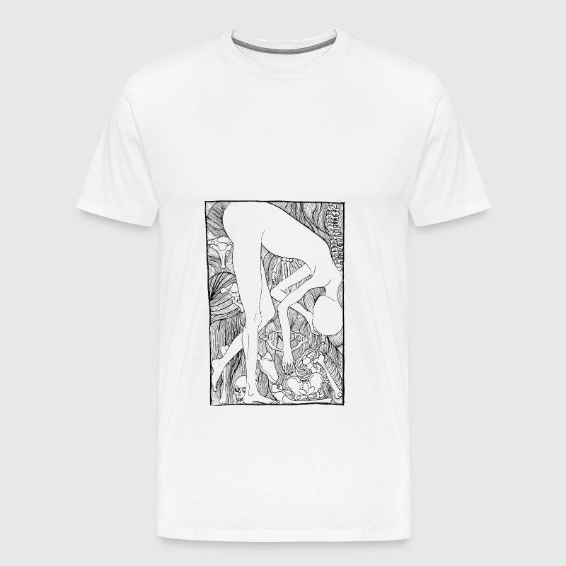 blanco y negro esqueleto cuerpo por Ostracize | Spreadshirt