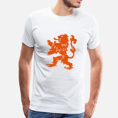 Dutch Hockey Dutch Lion - Men's Premium T-Shirt