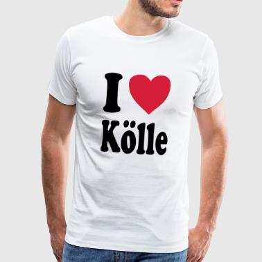 I love Cologne (Cologne / Cologne) - Men's Premium T-Shirt