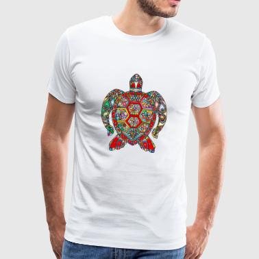 Turtle oriental - Men's Premium T-Shirt