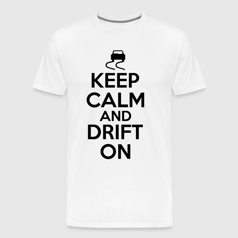 Keep calm and drift on - Maglietta Premium da uomo