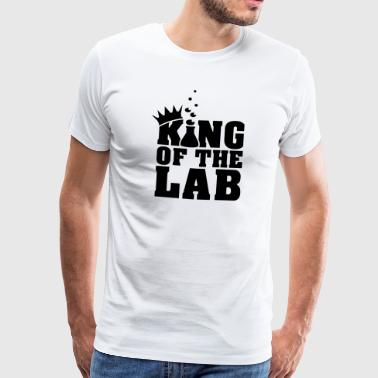king of the lab (c, 1c) - Männer Premium T-Shirt