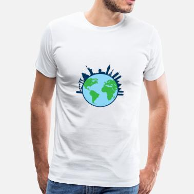 One World World - Männer Premium T-Shirt