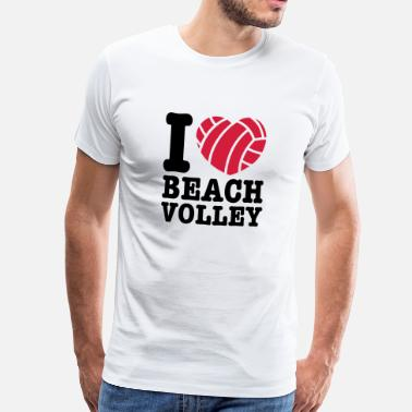Beach Volley Ball beach volley - Men's Premium T-Shirt