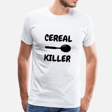Killer Swag Cereal Killer - Humor - Funny - Joke - Friend - Men's Premium T-Shirt