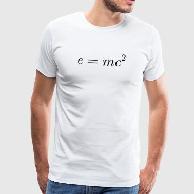 E = mc² - Men's Premium T-Shirt