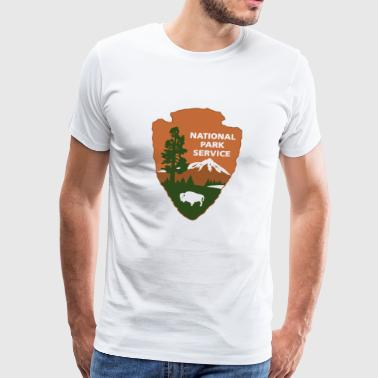 national park service logo - Men's Premium T-Shirt