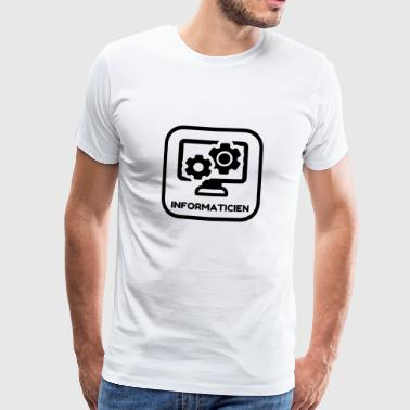 informatique / informaticien / ordinateur / geek - T-shirt Premium Homme