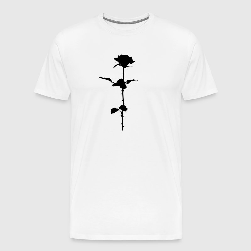 Black rose - Men's Premium T-Shirt