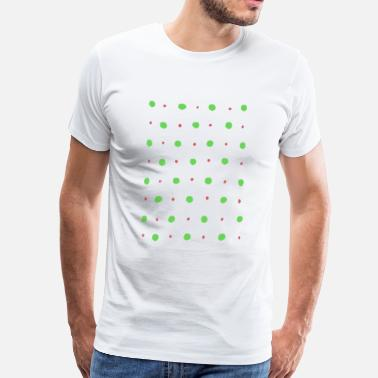 Scandinavian Scandinavian design - the colorful dots - Men's Premium T-Shirt