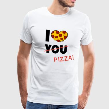 Pizza love fast food food gift - Men's Premium T-Shirt
