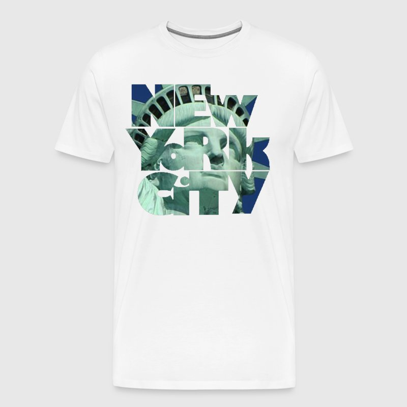 New York City 1 - Mannen Premium T-shirt