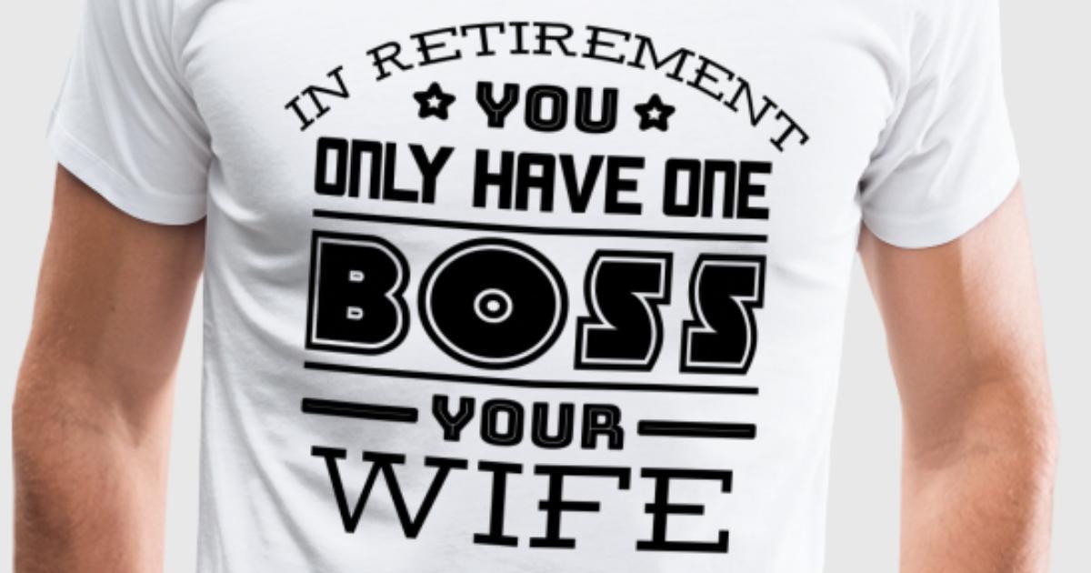 Rente Rentner Geschenk Chef Pension Arbeit Frau von | Spreadshirt