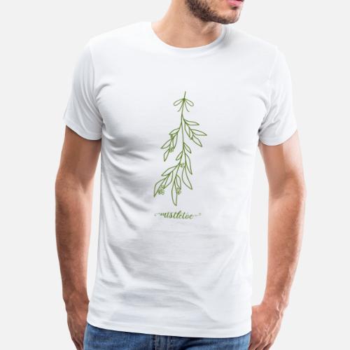 Mistelzweig Weihnachten Advent Geschenk Kuss Paar von   Spreadshirt