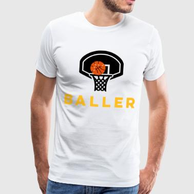 Street Basketball OFFICIAL BALLER - BASKETBALL - Men's Premium T-Shirt