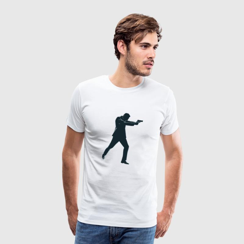 agent secret - T-shirt Premium Homme
