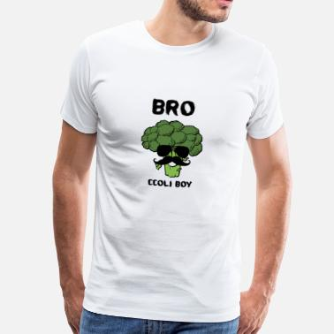 Broccoli GIFT BROCCOLI BOY FITNESS VEGETABLE BROTHER - Mannen Premium T-shirt