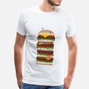 Giant Burger - Premium-T-shirt herr
