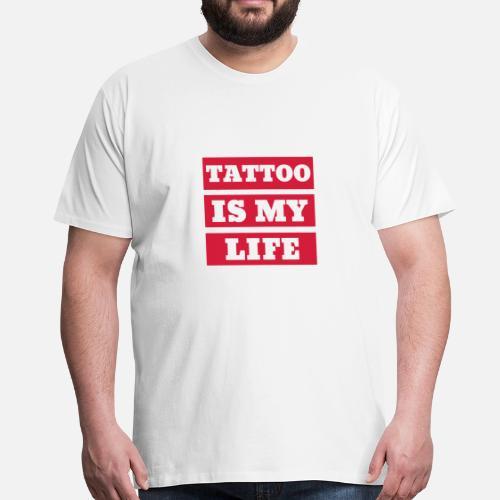 Tatouage Tatoue Motard Piercing Moto T Shirt Premium Homme