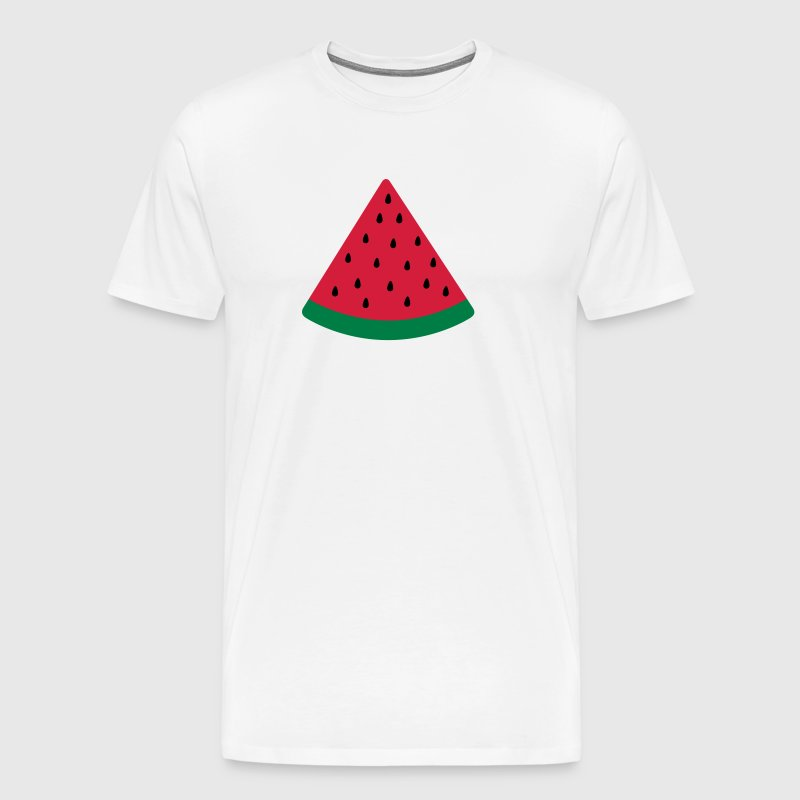 water melon vandmelon - Herre premium T-shirt