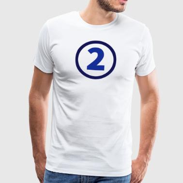 Number Two number two - Men's Premium T-Shirt